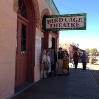 Photo taken at The Original Bird Cage Theatre Of Tombstone by Rhondaa R. on 11/24/2012