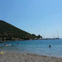 Photo taken at Kyparissi by Stathis S. on 8/10/2014