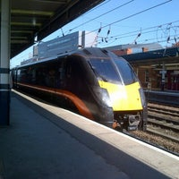 Photo taken at Doncaster Railway Station (DON) by Robert F. on 9/15/2012