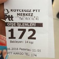 Photo taken at Köycegiz Ptt by Yunus K. on 6/20/2016