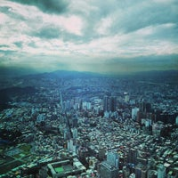 Photo taken at Taipei 101 Observatory by Angela C. on 12/28/2012