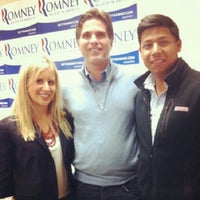 Photo taken at GOP Victory Center by Gustavo L. on 10/9/2012