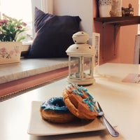 Photo taken at House of Donuts by Nastya B. on 5/6/2016