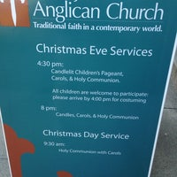 Photo taken at St. James Anglican Church by Patricia M. on 12/20/2013