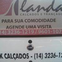 Photo taken at Landa Calçados e Trançados by Marcelão A. on 8/12/2014