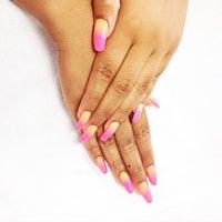 Photo taken at Lovely Nails Toronto by Sophia G. on 8/5/2014