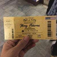Photo taken at Aliw Theater by Sheryll lane L. on 8/27/2017
