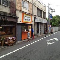 Photo taken at じゃがいもドーナツの店 ぱたーた by Pote M. on 5/25/2013