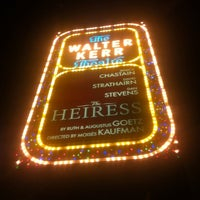 Photo taken at The Walter Kerr Theatre by Mark S. on 10/6/2012