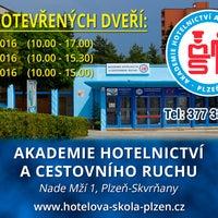 Photo taken at Hotelová škola Plzeň, Skvrňany by Hotelová Š. on 10/29/2016