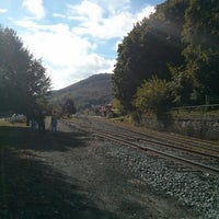 Photo taken at tamaqua train station by Chad N. on 10/14/2013