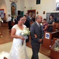 Photo taken at St. Lucy Catholic Church by W G. on 10/19/2013