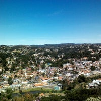 Photo taken at Morro do Elefante by Fabiana S. on 5/27/2012