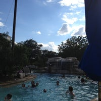 Photo taken at La Cantera Hill Country Resort Pool by Joseph V. on 5/12/2012