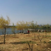 Photo taken at 莲湖公园 by shengqiang n. on 4/5/2015