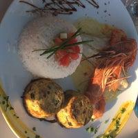 7/6/2017 tarihinde Liza V.ziyaretçi tarafından Riva Restaurant'de çekilen fotoğraf