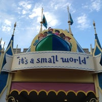 Photo taken at it's a small world by AJ T. on 2/26/2013