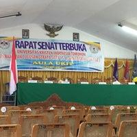 Photo taken at Universitas Kristen Indonesia Tomohon (UKIT) by Deychintah B. on 2/27/2015
