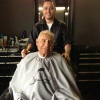 Photo taken at Against The Grain Barber Shop by Derek B. on 7/6/2013