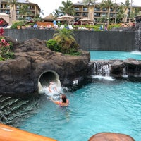 Photo taken at Koloa Landing Resort Pool by Derek B. on 5/6/2018