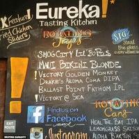 Menu - Eureka! *Tasting Kitchen - East Hawthorne - 24 tips from ...