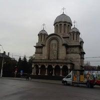 Photo taken at Biserica Sfinţii Împăraţi by Robb K. on 2/16/2013