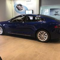 Photo taken at Tesla by Jonah W. on 11/30/2016