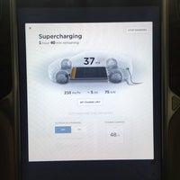 Photo taken at Tesla Supercharger by Jonah W. on 4/24/2017