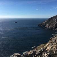 Photo taken at Cabo Fisterra by Jonah W. on 8/11/2017