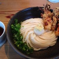 Photo taken at うどん のんち by minkuma on 7/18/2014