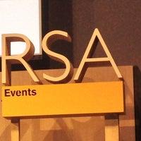 Photo taken at RSA by Konstantin P. on 9/19/2013