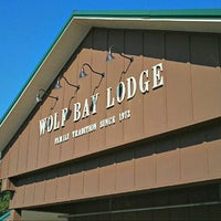 Photo taken at Wolf Bay Lodge by Zach R. on 10/11/2012