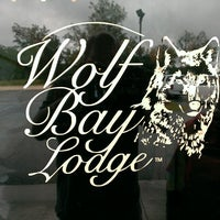 Photo taken at Wolf Bay Lodge by Zach R. on 8/18/2013
