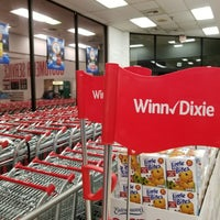 Photo taken at Winn-Dixie by Zach R. on 3/9/2018