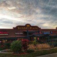 Photo taken at Sunset Plaza by Zach R. on 12/5/2017