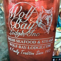 Photo taken at Wolf Bay Lodge by Zach R. on 2/15/2014