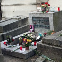 Photo prise au Tombe de Jim Morrison par Talbot G. le10/15/2014