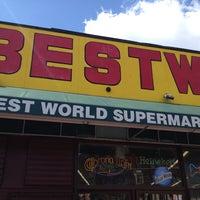 Photo taken at BESTWORLD Supermercado by Jon F. on 3/30/2013