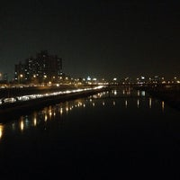 Photo taken at 군자교 by 보람 최. on 11/22/2013