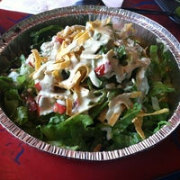Photo taken at Cafe Rio Mexican Grill by Darina on 8/31/2012