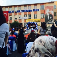 Photo taken at Bahcelievler Anadolu Lisesi by Feyzanur D. on 6/4/2016