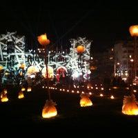 Photo taken at Jardin Public Biarritz by Dave d. on 12/22/2012