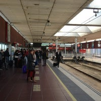 Photo taken at RENFE Aeroport by % %. on 12/5/2012