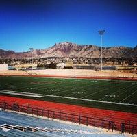 Photo taken at Coronado Football Stadium by DJ D. on 1/13/2013