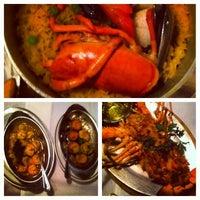 Photo taken at Sevilla Restaurant by Jaclyn on 5/1/2013