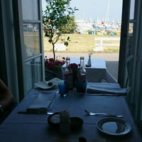 Photo taken at Restaurant Gilleleje Havn by Trine Louise A. on 7/28/2014