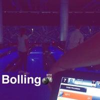 Photo taken at Yalla Bowling Lanes by Rahaf♡ on 8/24/2016