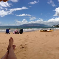 Photo taken at Wailea Beach by Michelle T. on 5/27/2013