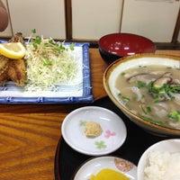 Photo taken at かつ亭 豊年 by maccord 1. on 9/28/2013
