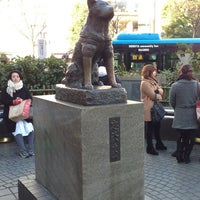 Photo taken at Hachiko Statue by youreyesonly 0. on 1/19/2013